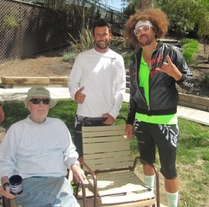 Mike Taggart Lester Cook and Redfoo LOW