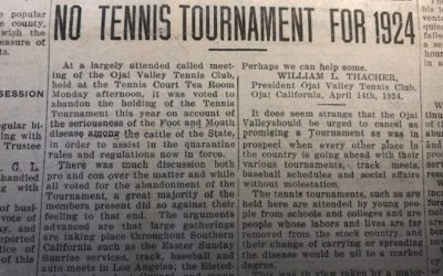 Looking Back at Past Ojai Tournaments Cancelled